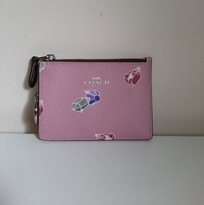 Coach X Disney Card Case Gems Key Wallet